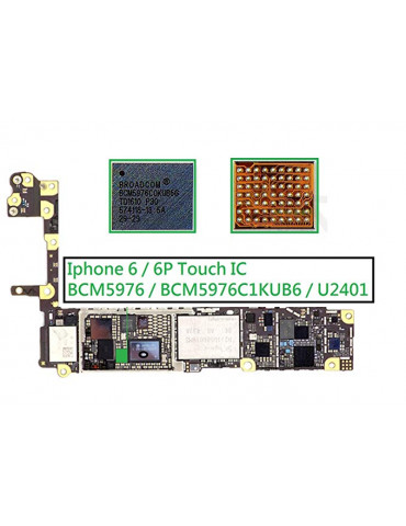 IC TOUCH BIT NUMBER U2401...