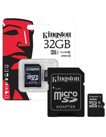 KINGSTON MICRO SD 32GB CON...